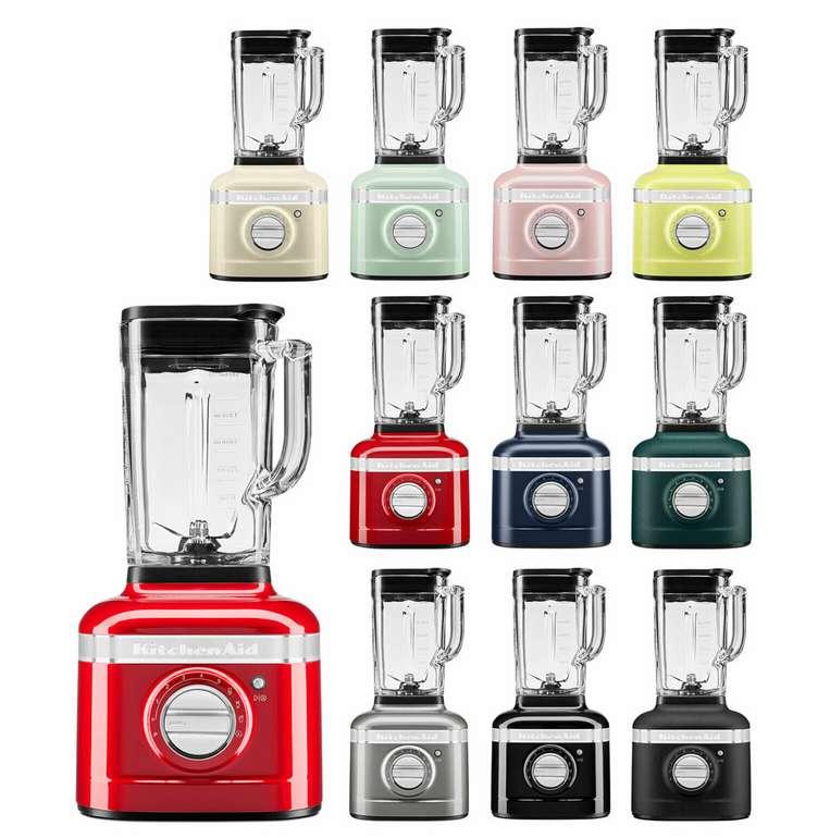 KitchenAid Artisan K400 5KSB4026 Standmixer (1,4L Glasbehälter) für 188,91€ inkl. Versand (statt 270€) - B-Ware!