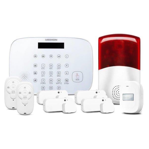 """Medion® Smart Home Alarmsystem Zentrale """"P85731"""" inkl. umfangreichem Zubehör für 61,46€ inkl. Versand (statt 146€)"""