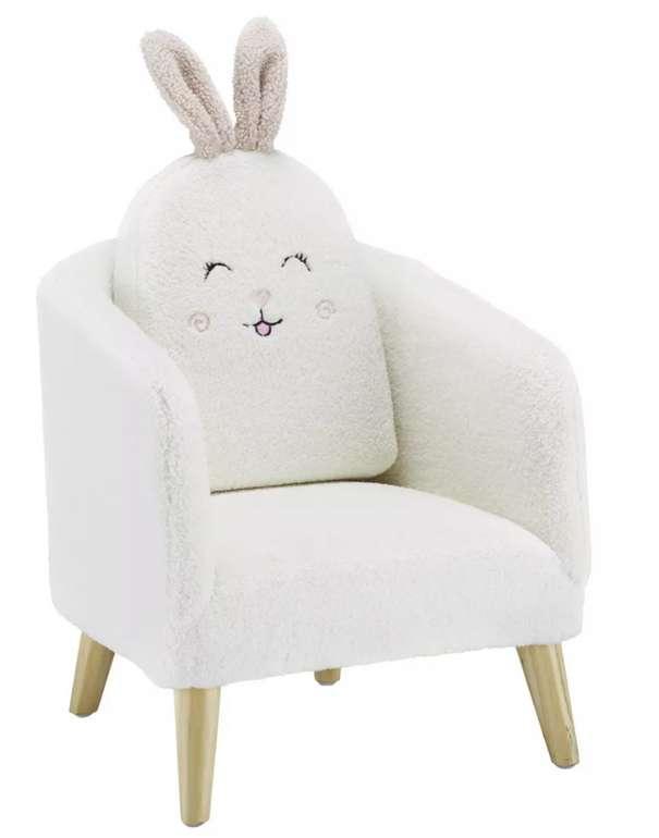Modern Living Kindersessel aus Plüsch in Weiß für 75,88€inkl. Versand (statt 106€)