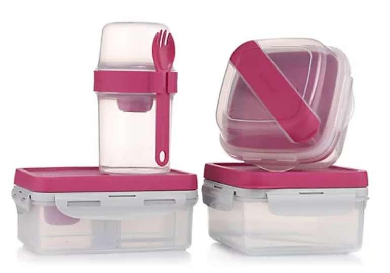 LocknLock Frischhaltedosen Lunch-Box-Set (4-teilig, vers. Farben) für 25,94€ inkl. Versand (statt 30€)