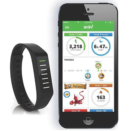 Striiv Aktivity Tracker mit Touchscreen & OLED-Display für 24,94€ (statt 40€)