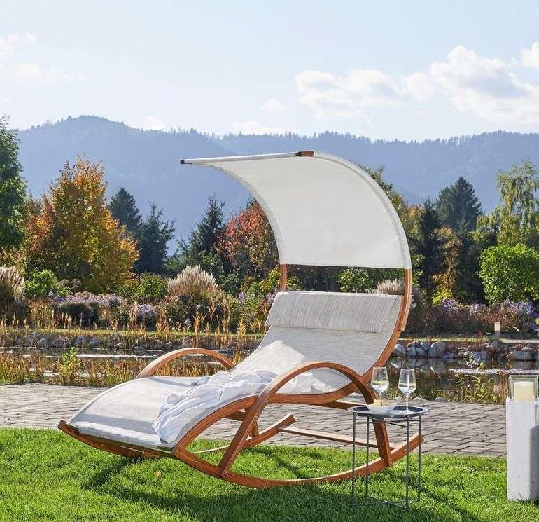 Bessagi Garten Relaxsessel Logan Aus Larchenholz Fur 112 50