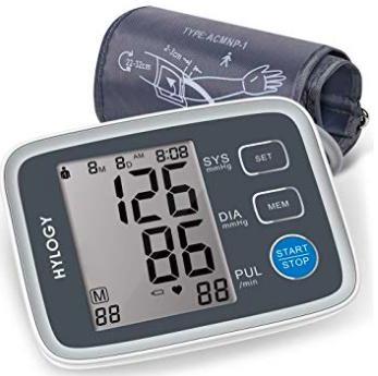 Hylogy Oberarm Blutdruckmessgerät mit LCD-Großbild-Display ab 13,99€ (statt 20€)