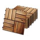 Wolketon 30 x 30 cm Holzfliesen aus Akazien-Holz (1 m² oder 2 m²) ab 18,89€