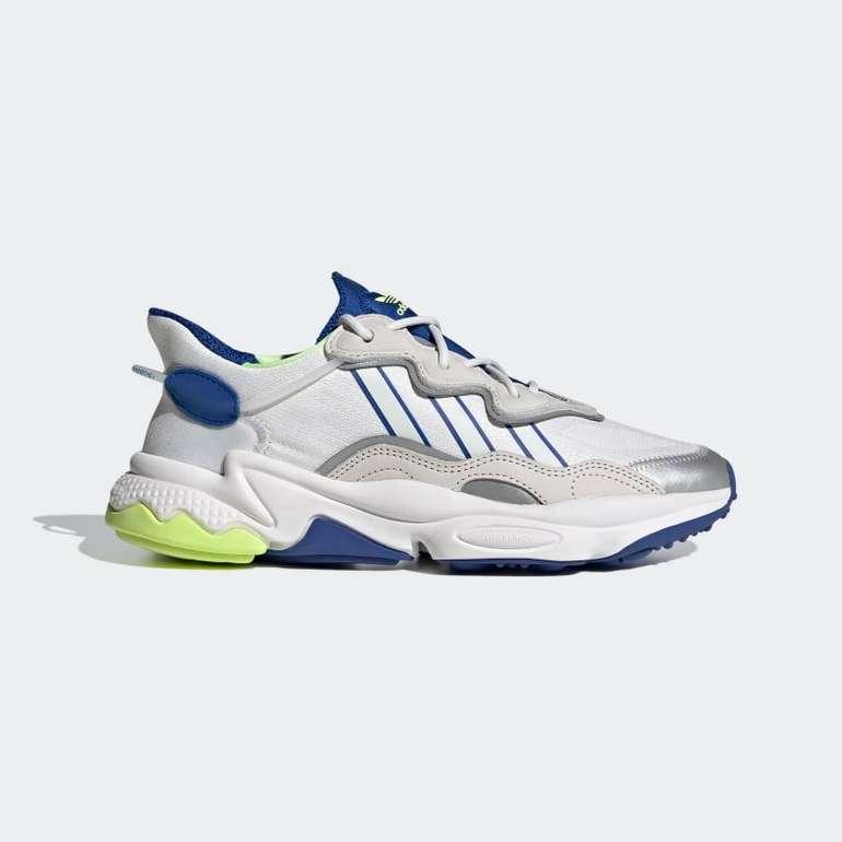 Adidas Ozweego Schuh in Weiß/Blau für 67,17€ inkl. Versand (statt 90€)