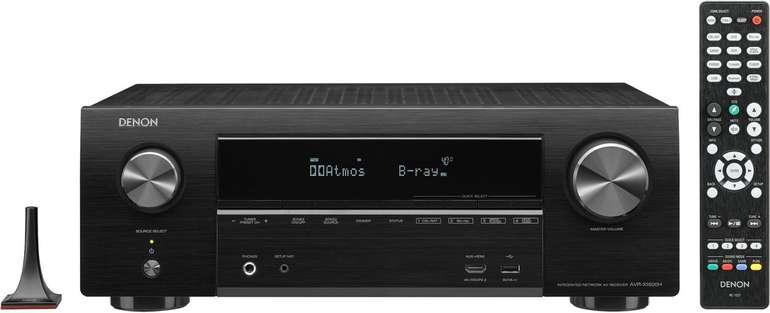 "Denon ""AVR-X1600H"" 7.2 AV-Receiver (WLAN, LAN, Bluetooth) für 340,40€ inkl. Versand (statt 379€)"