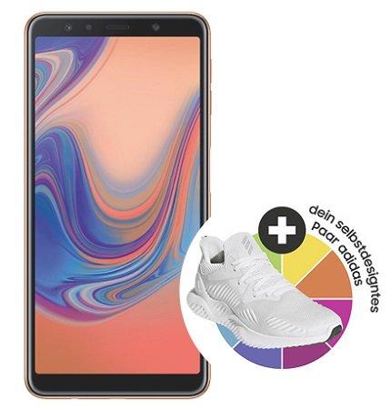 3GB Congstar Telekom Allnet Flat + Galaxy A7 + 120€ adidas Gutschein für 20€ mtl