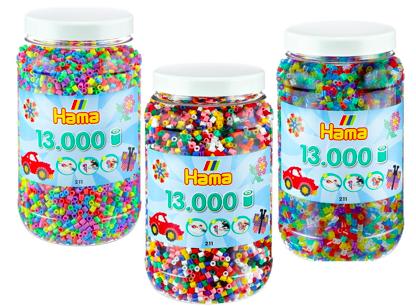 Schnell! 2x 13.000 HAMA Bügelperlen für 12,90€ inkl. Versand (statt 24€)