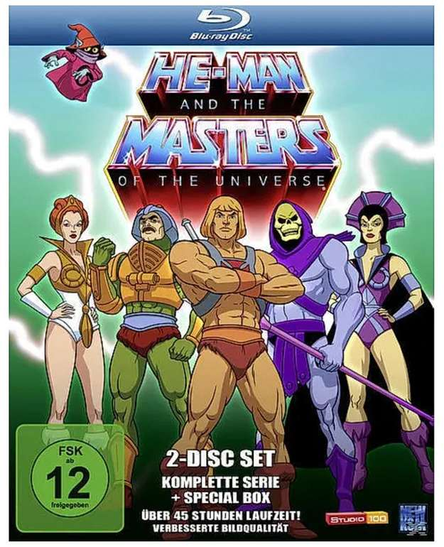 He-Man and the Masters of the Universe - Die komplette Serie (Blu-ray) für 23,99€ inkl. Versand