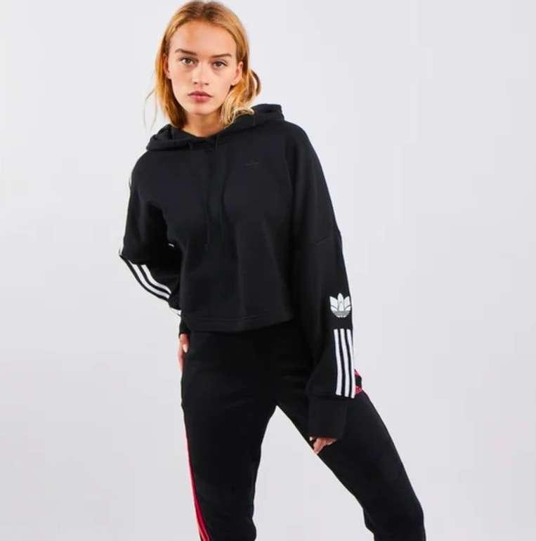Adidas 3D Trefoil Over The Head Damen Hoodie für 29,99€ inkl. Versand (statt 50€)