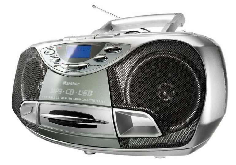 Karcher CD Radio RR 510(N) – Boombox (CD Player, UKW Radio und USB) für 49,99€ inkl. Versand (statt 70€)