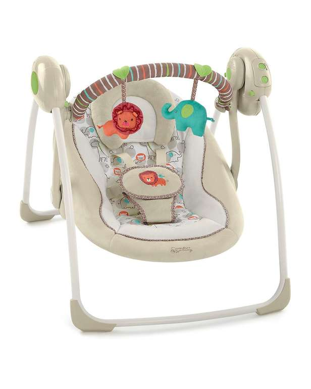 Bright Starts Babyschaukel Cozy Kingdom für 45,54€ inkl. Versand (statt 60€)