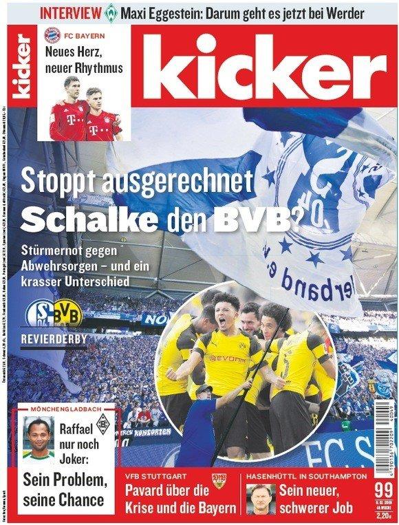 Kicker im Jahresabo (104 Ausgaben) für 230,40€ + 180€ Verrechnungsscheck