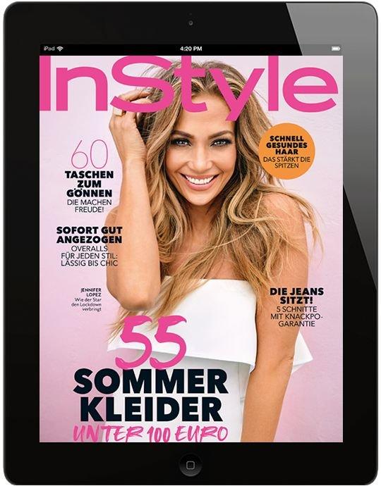 6 x Ausgaben InStyle digital (ePaper) für 20,99 € + 20€ Gutschein