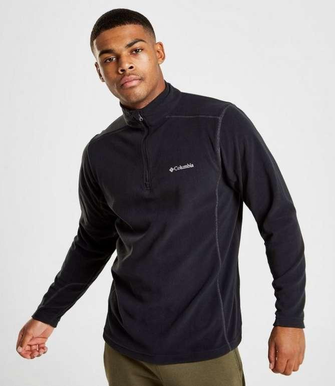 Columbia Micro Fleece Herren Langarmshirt Schwarz für 13,99€inkl. Versand (statt 30€)