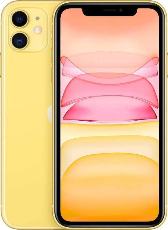 Apple iPhone 11 mit 256GB in Gelb für 809,25€ inkl. Versand (statt 925€)