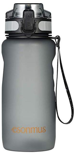 Esonmus auslaufsichere Sport Trinkflasche (650ml) für 9,99€ inkl. Prime