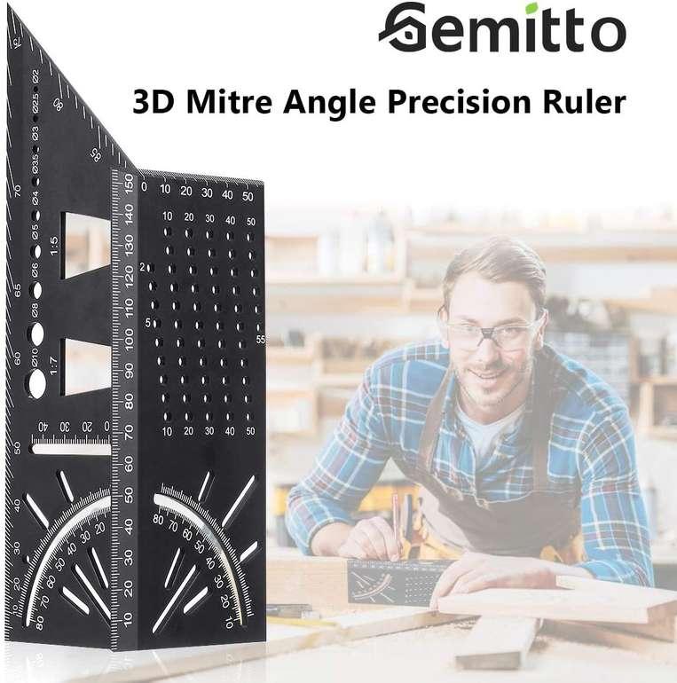 Gemitto 3D Gehrungswinkel für 8,50€ inkl. Prime Versand (statt 17€)