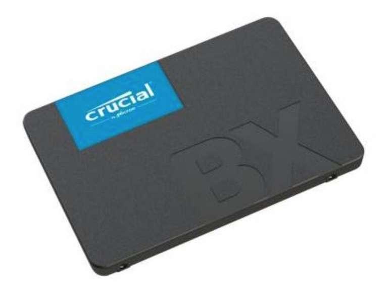 eBay: 10% Rabatt auf Technik, Haushalt & Auto - z.B. Crucial BX500 SSD mit 960GB für 79,20€