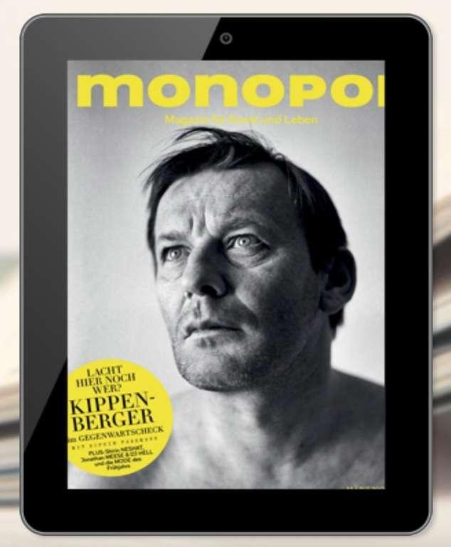 monopol E-Paper Jahresabo für 5€ (statt 107,80€)