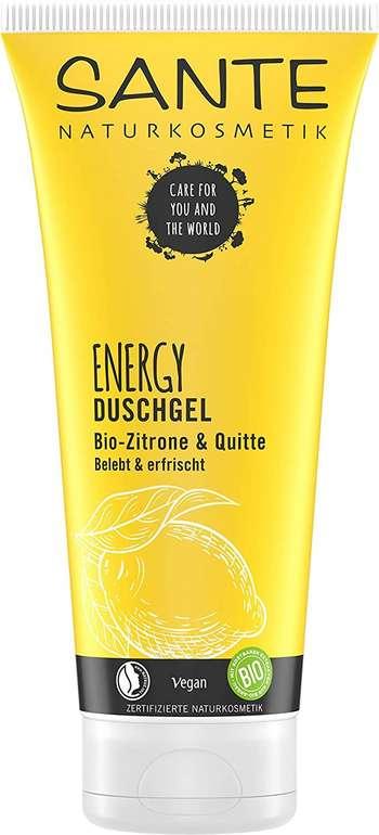 5er Pack SANTE Naturkosmetik Energy Duschgel (Zitrisch-frischer Duft) für 7,80€ (statt 18€) - Prime!