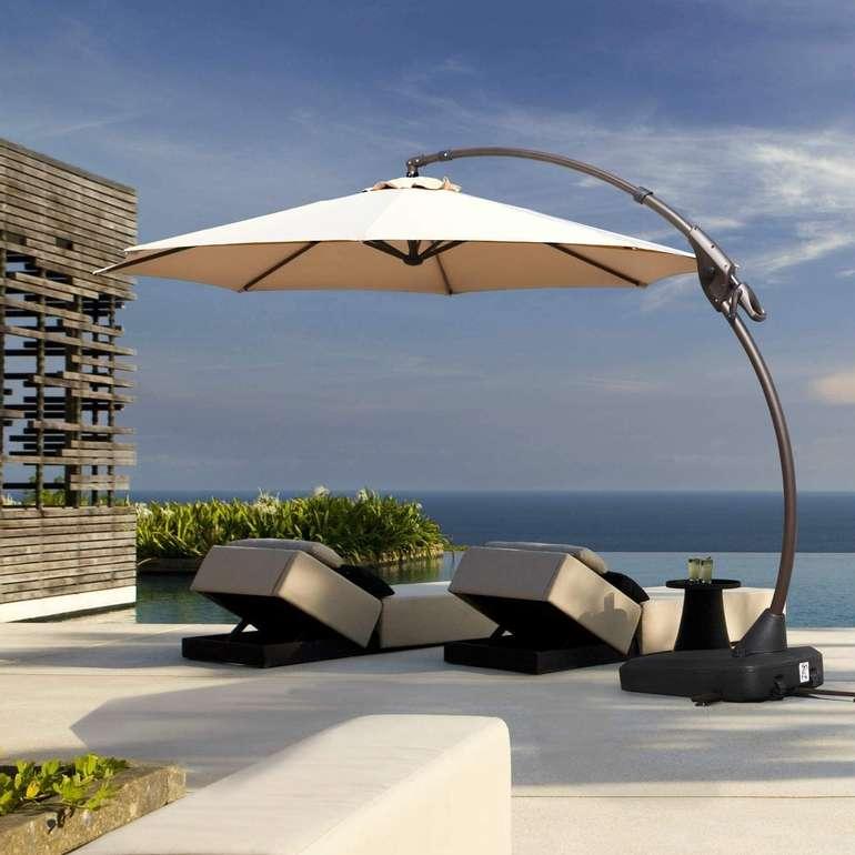 Grand Patio neigbarer Sonnenschirm (330 cm, UV-Schutz 50+) für 239,99€ inkl. Versand