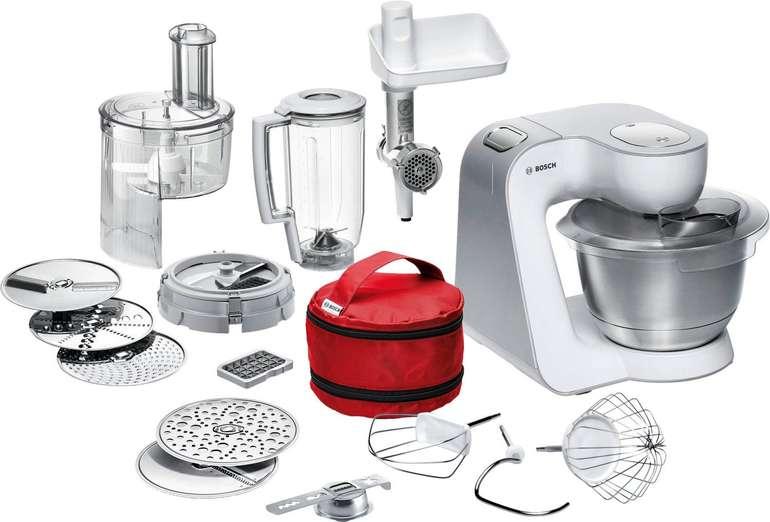 Bestpreis? Bosch MUM542710DE CreationLine Küchenmaschine mit 3,9 Liter Edelstahl-Schüssel für 209,99€ (statt 331€)