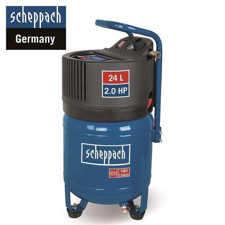 Scheppach HC24V Druckluftkompressor (24 Liter + Zubehör) für 109€ mit Versand