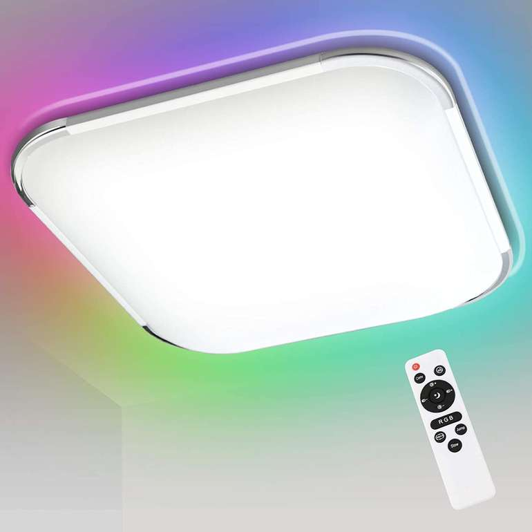 Hengda RGB LED Deckenleuchten im Angebot, z.B. 24W für 25,19€ inkl. Versand (statt 35€)