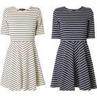 Vero Moda Sweatkleid mit Streifenmuster für 16,99€ inkl. Versand (statt 20€)