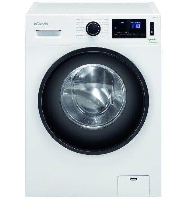 Bomann WA 7190 - 9kg Waschmaschine mit 1.400 U/min und A+++ für 382,76€ (statt 466€)