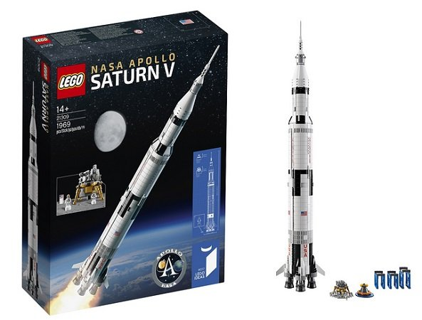 Lego Ideas (21309) NASA Apollo Saturn V für 99,99€ inkl. Versand
