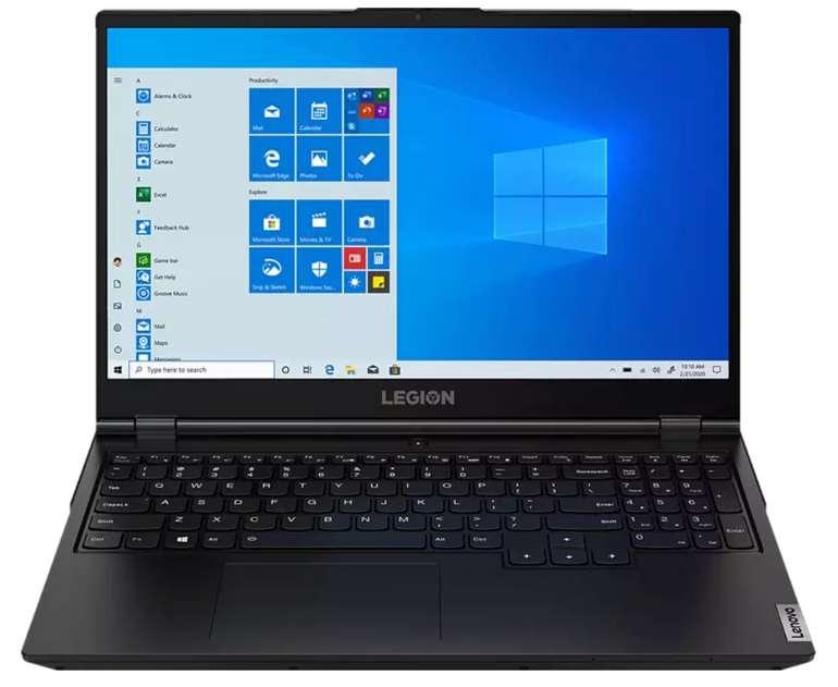Lenovo Legion 5 Gaming-Notebook mit 15,6 Zoll (AMD Ryzen™ 5 Prozessor, 16 GB RAM, 512 GB SSD) für 849€