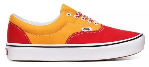 Vans ComfyCush Era Lace Mix Red Cadmium Ylw Schuhe 2