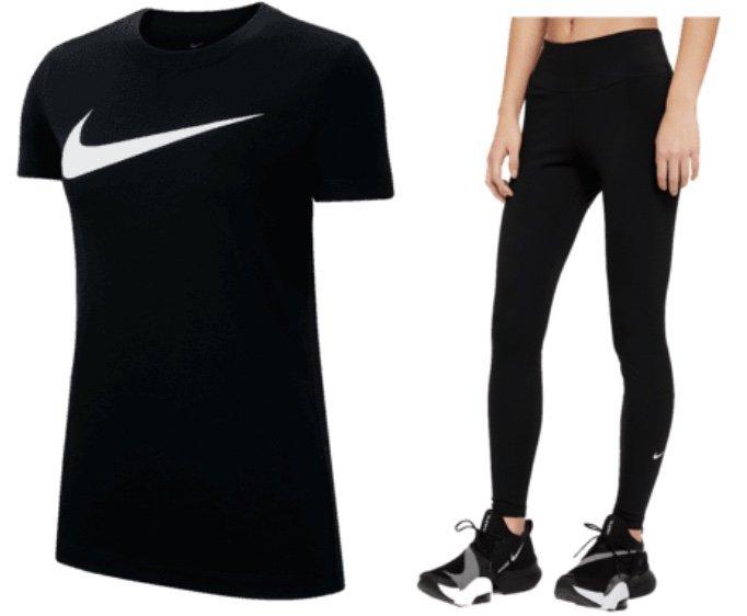2-tlg. Nike Park 20 Damen Trainingsset (T-Shirt + Leggings) für 35,95€ inkl. Versand (statt 45€)