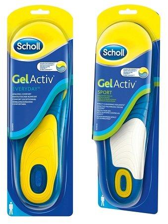 Scholl GelActiv Everyday- oder Sport Einlegesohlen je nur 8,49€ inkl. VSK