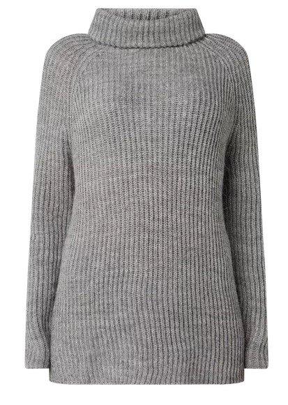 Tommy Hilfiger Pullover mit Alpaka-Anteil (grau, weiß) für 63,99€ inkl. Versand (statt 80€)