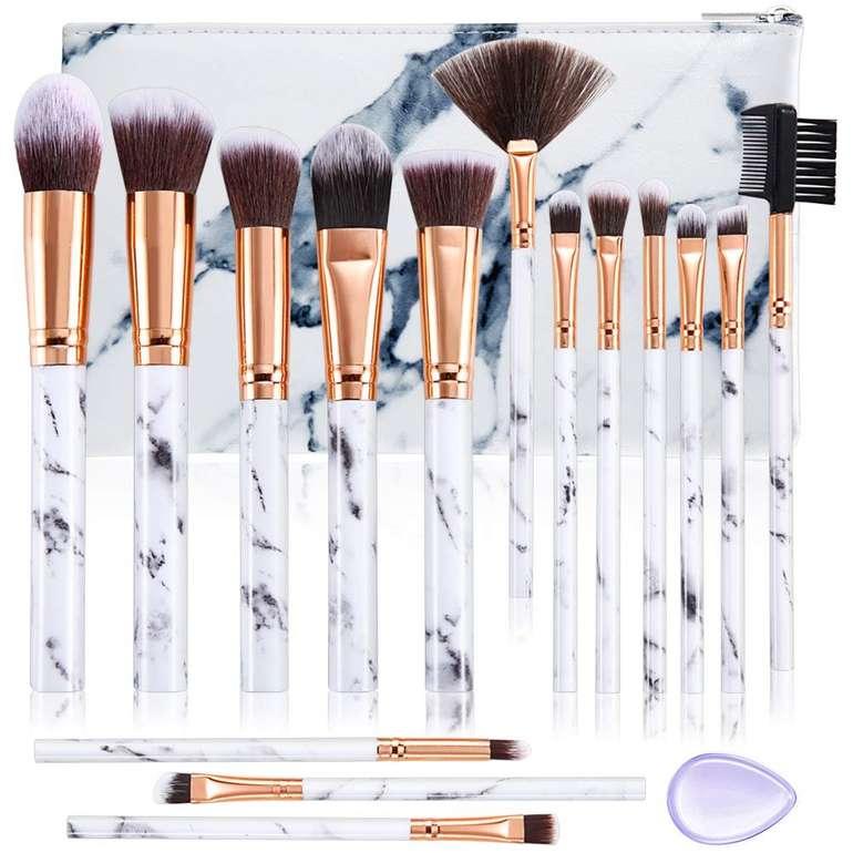 Make-up Pinsel Sets bei Amazon reduziert, z.B. Duaiu 15-teiliges Set für 6,49€ inkl. Prime Versand