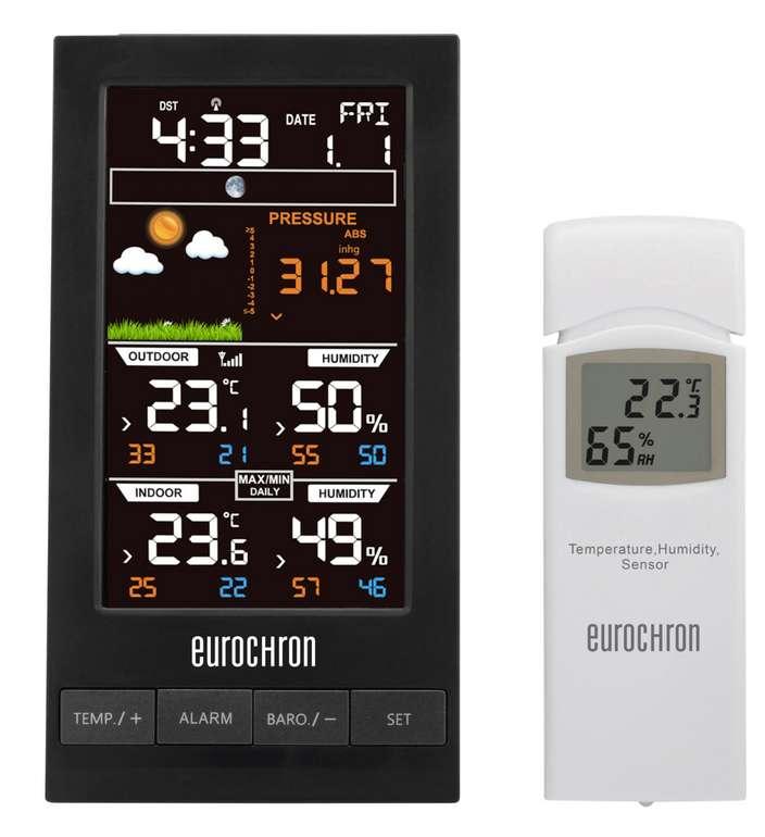 Eurochron EFWS S250 Wetterstation für 24,44€ inkl. Filialversand (statt 41€)