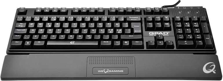 QPAD Gaming Tastatur MK-85 MX-Black Switch für 85,89€ inkl. VSK