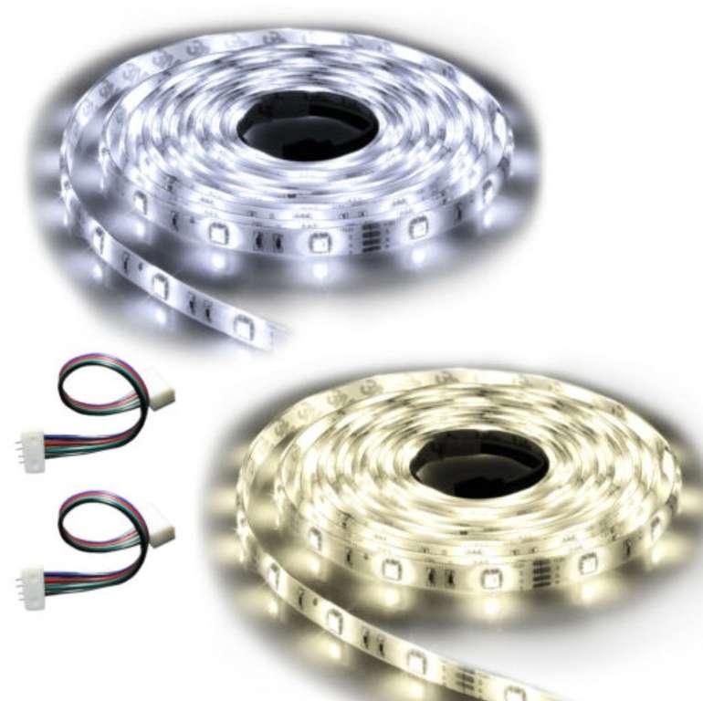 Ninetec Flash30 – 5m LED Strip (mit IP20- oder IP65-Schutz) für je 7,77€ (statt ca. 10€)