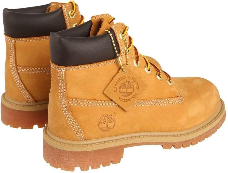 Timberland 6-inch Premium Waterproof wheat nubuck Boots (36 bis 40) für je 88,90€ inkl. VSK (statt 100€)