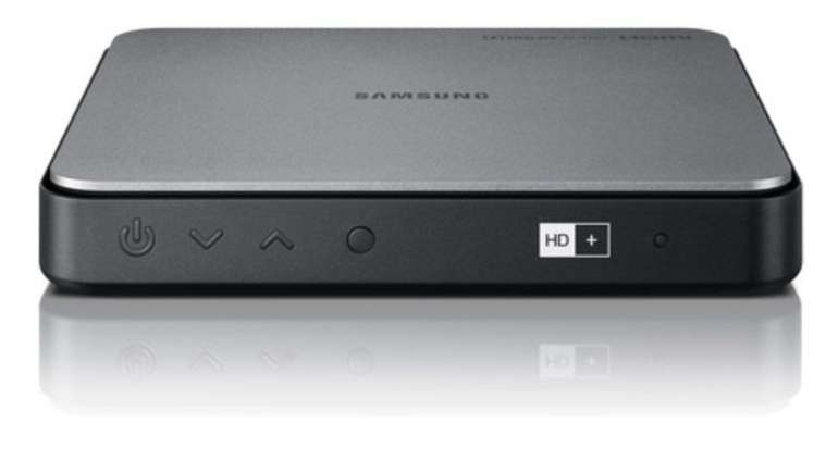 Samsung GX-SM550SM Media Box HD+ Satellitenreceiver (HD+, DVB-S/-S2, HDMI, PVR, WiFi) für 70,99€