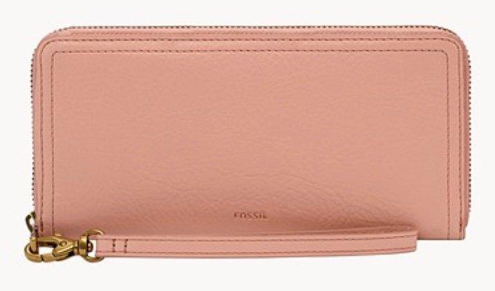 Fossil Damen Geldbörse Logan RFID Zip Around Clutch für 39,95€ (statt 64€) - Newsletter Gutschein!