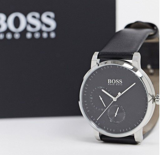 Hugo Boss Black Oxygen Herrenuhr für 133,59€ inkl. Versand (statt 185€)