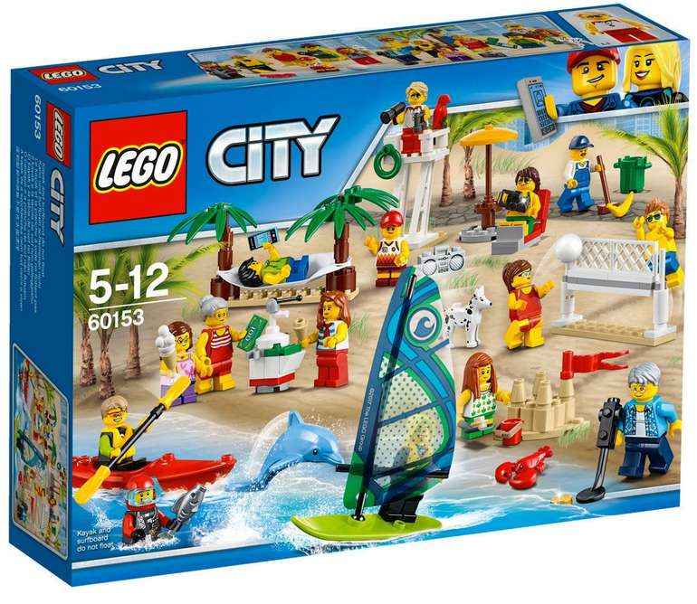 Lego City - Ein Tag am Strand (60153) für 22,24€ inkl. Versand (statt 30€)
