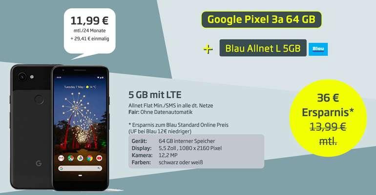 Google Pixel 3a (29,41€)