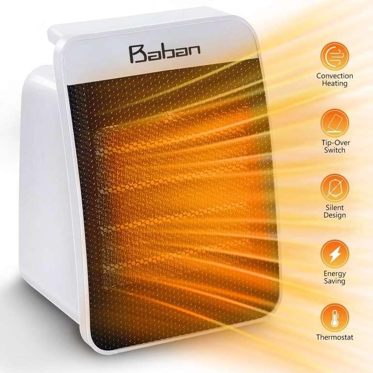 Baban Heizlüfter mit 1500 Watt für 14,96€ inkl. Prime VSK (statt 34€)