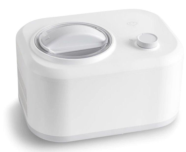 Springlane Eni Eismaschine (1 L mit selbstkühlendem Kompressor, 100 W, entnehmbarer Eisbehälter) für 119,99€
