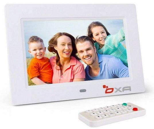 OXA 7-Zoll 4G HD Digitalen Bilderrahmen für Fotos & Videos nur 26,59€